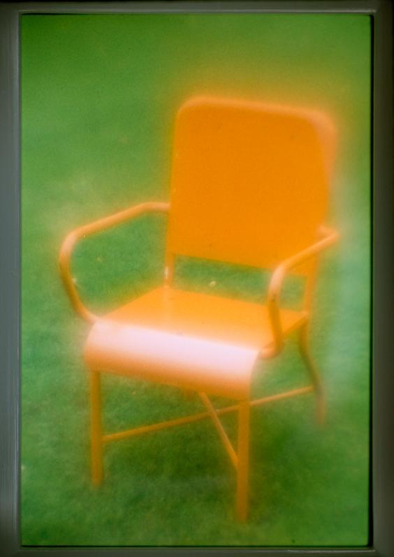 Stuhl, orange