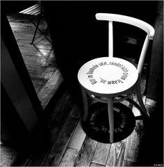 ... Stuhl.ratschläge ...