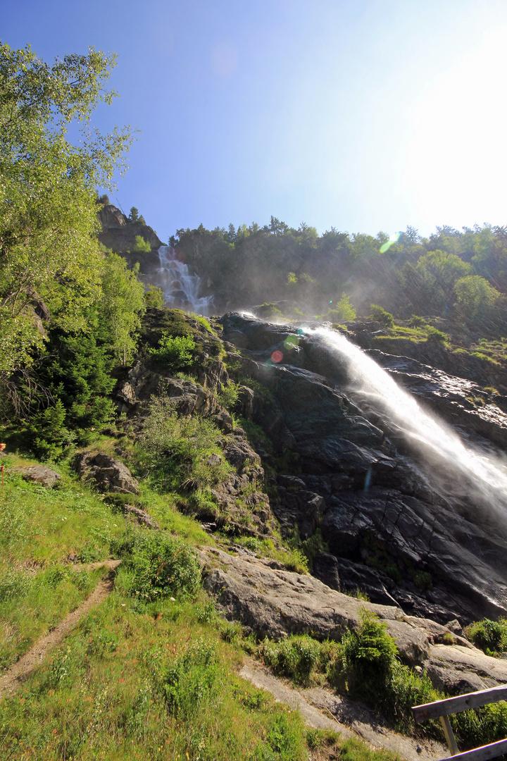 Stuibenwasserfall bei Jerzens / Tirol