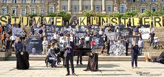 Stumme Künstler in Dresden 2020