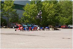 Stuntshow Dortmund-Oestrich 08.05.2011 Motorradstunt