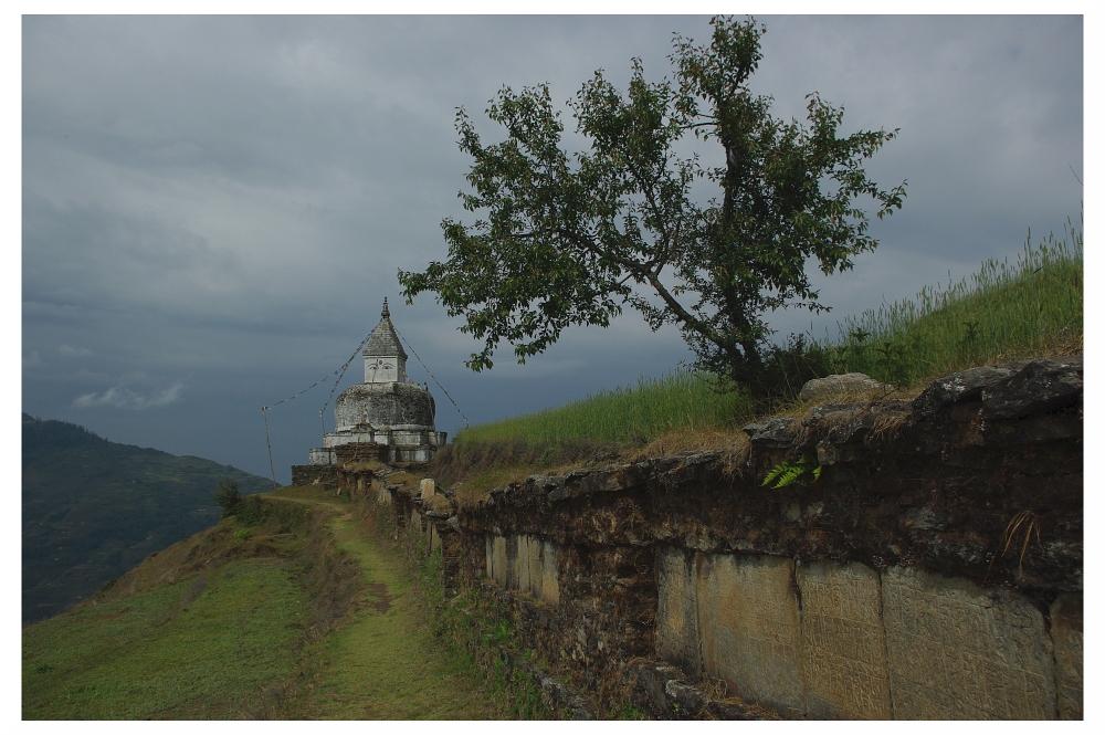 Stupa in Dolakha