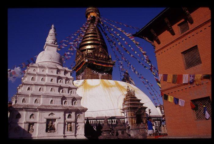 Stupa von Swayambhu