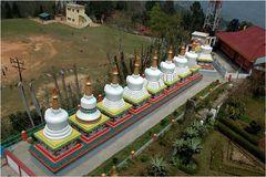 Stupas, auch Tschörten genannt