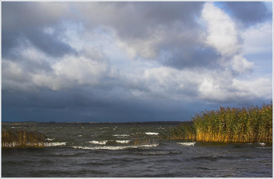 Sturm am Kummerower See