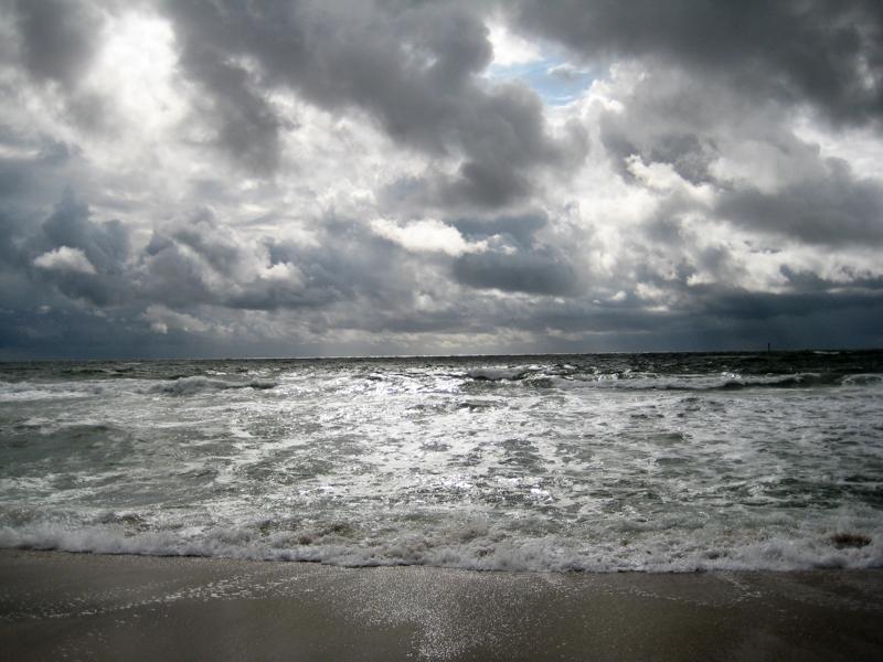 Sturm am Strand (1)
