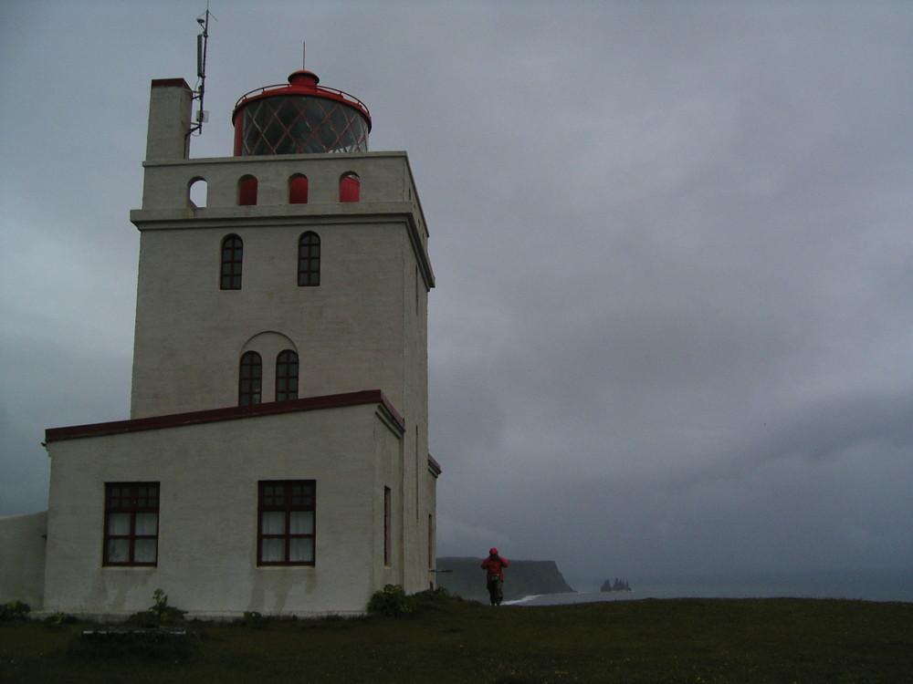 Sturm an der Südküste von Island