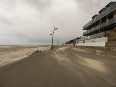 Sturm auf der Promenade