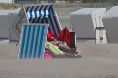 Sturm gehört auch zum Strand