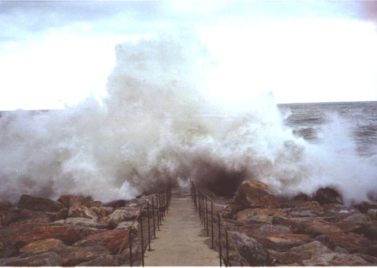 Sturm im Mittelmeer