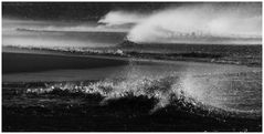 Sturm im Wattenmeer # P1080488