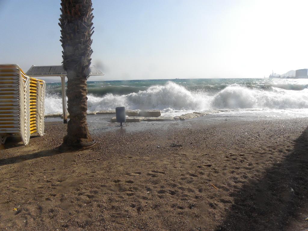 Sturm in Eilat