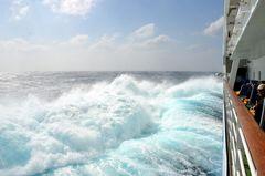 Sturm Mittelmeer Aida Mar 15.03.2013