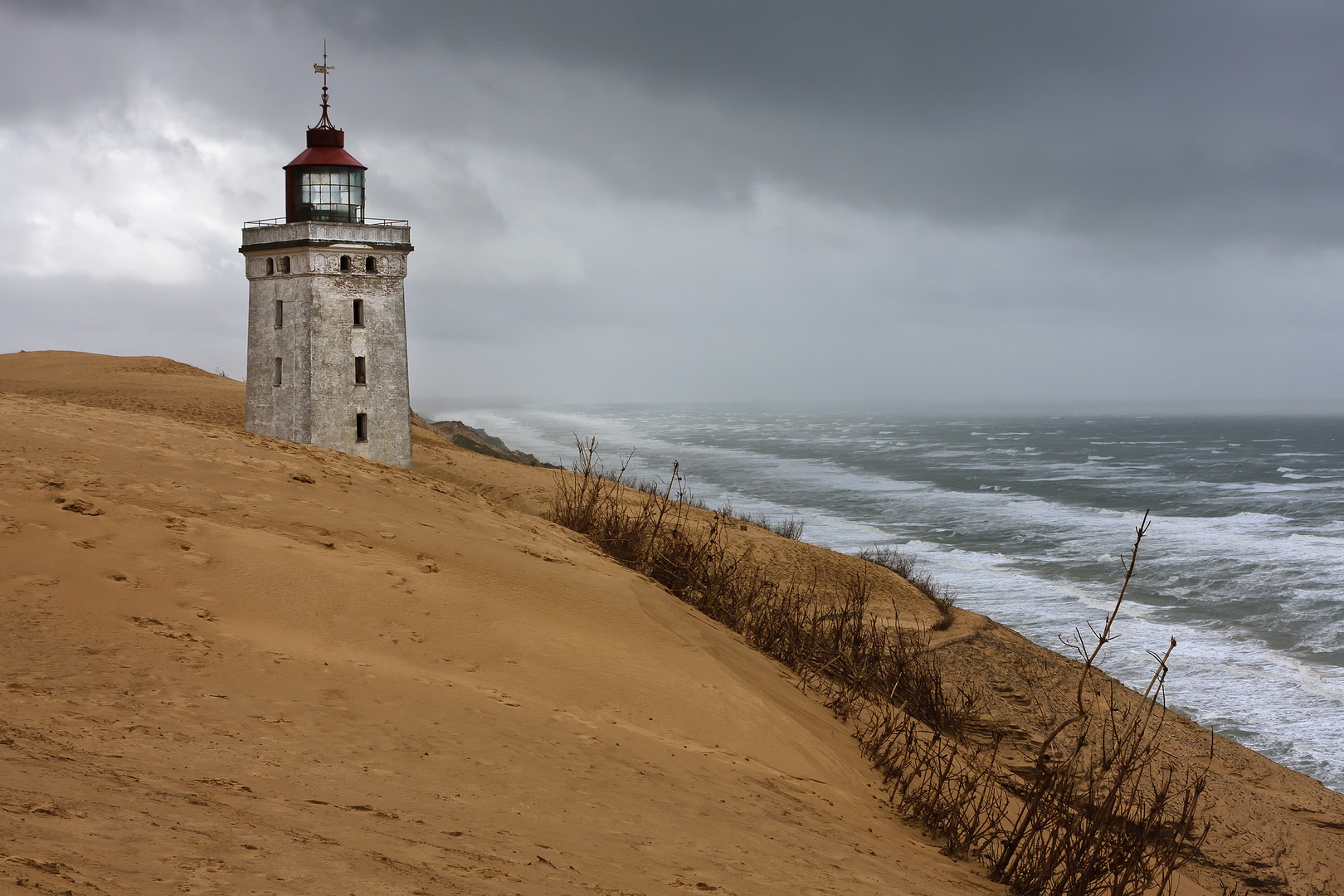 Sturm über Rubjerg Knude Fyr
