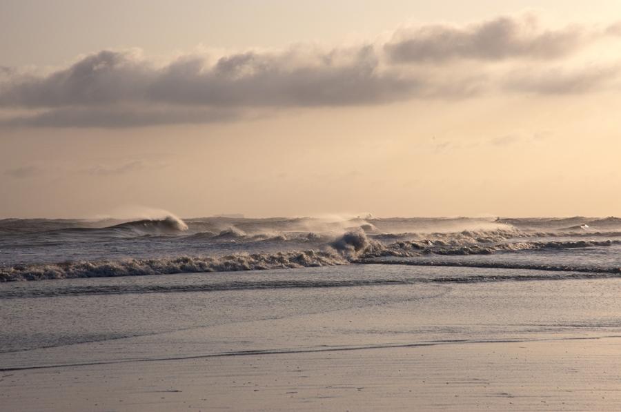 Sturmmorgen auf Wangerooge