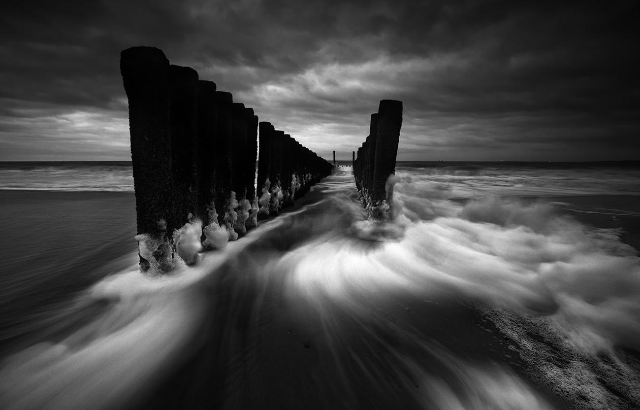Sturmtief über der Nordsee