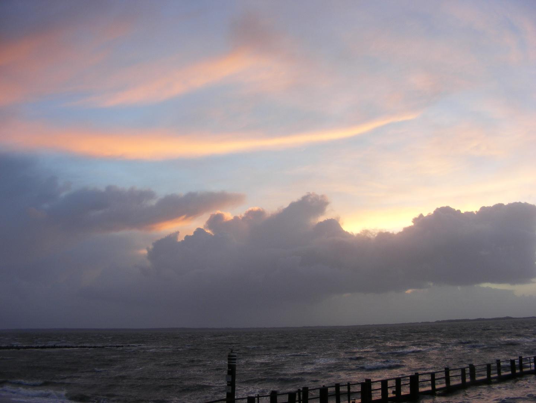 Sturmwolken am Abend