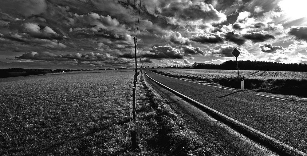 Sturmwolken black and white