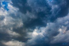 Sturmwolken über Leichlingen