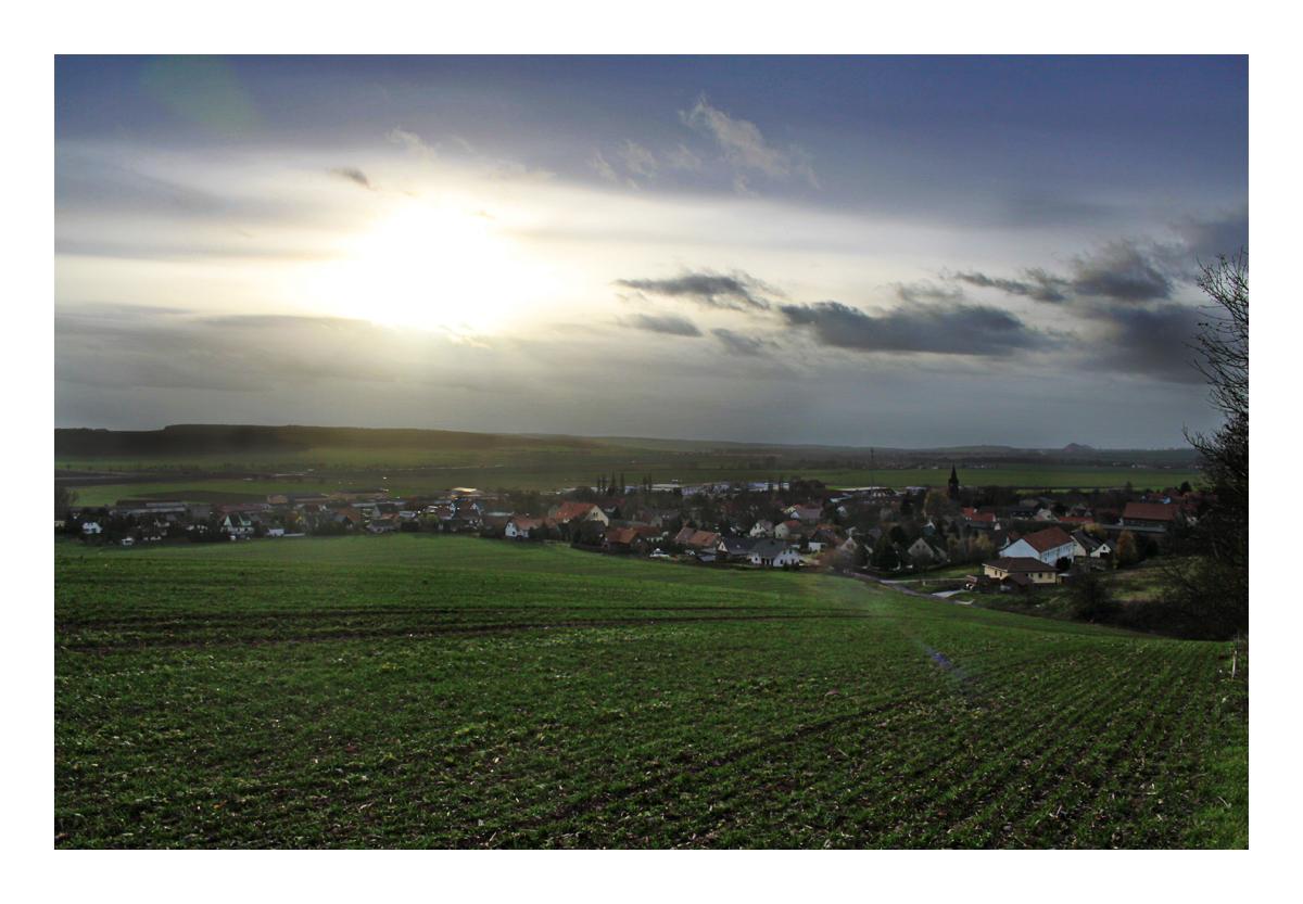 Sturmwolken über Rothenschirmbach