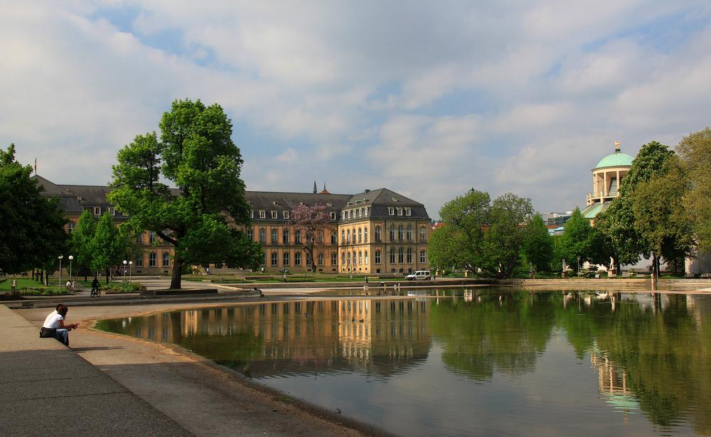 Stuttgart am Morgen