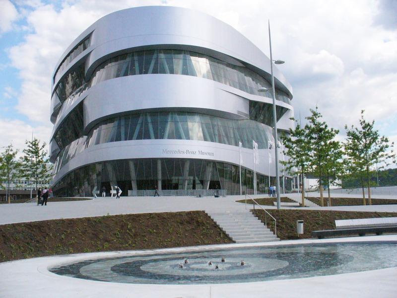 Stuttgart-Bad Cannstatt, Mercedes-Benz-Museum
