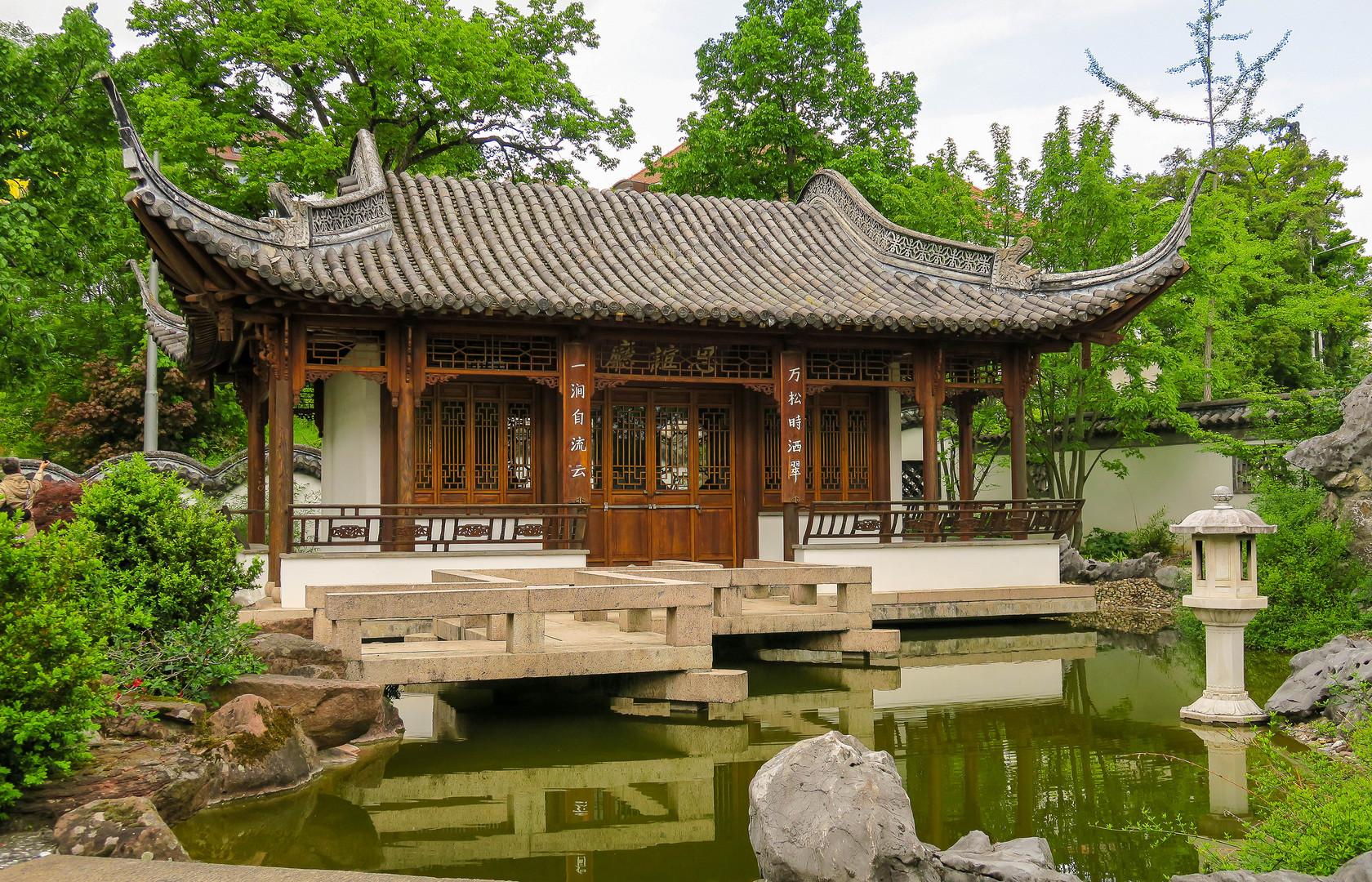 Stuttgart Chinesischer Garten Foto Bild Architektur Kultur