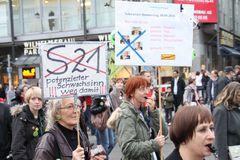 Stuttgart K21 Plakat Bürgerrechte 30.10