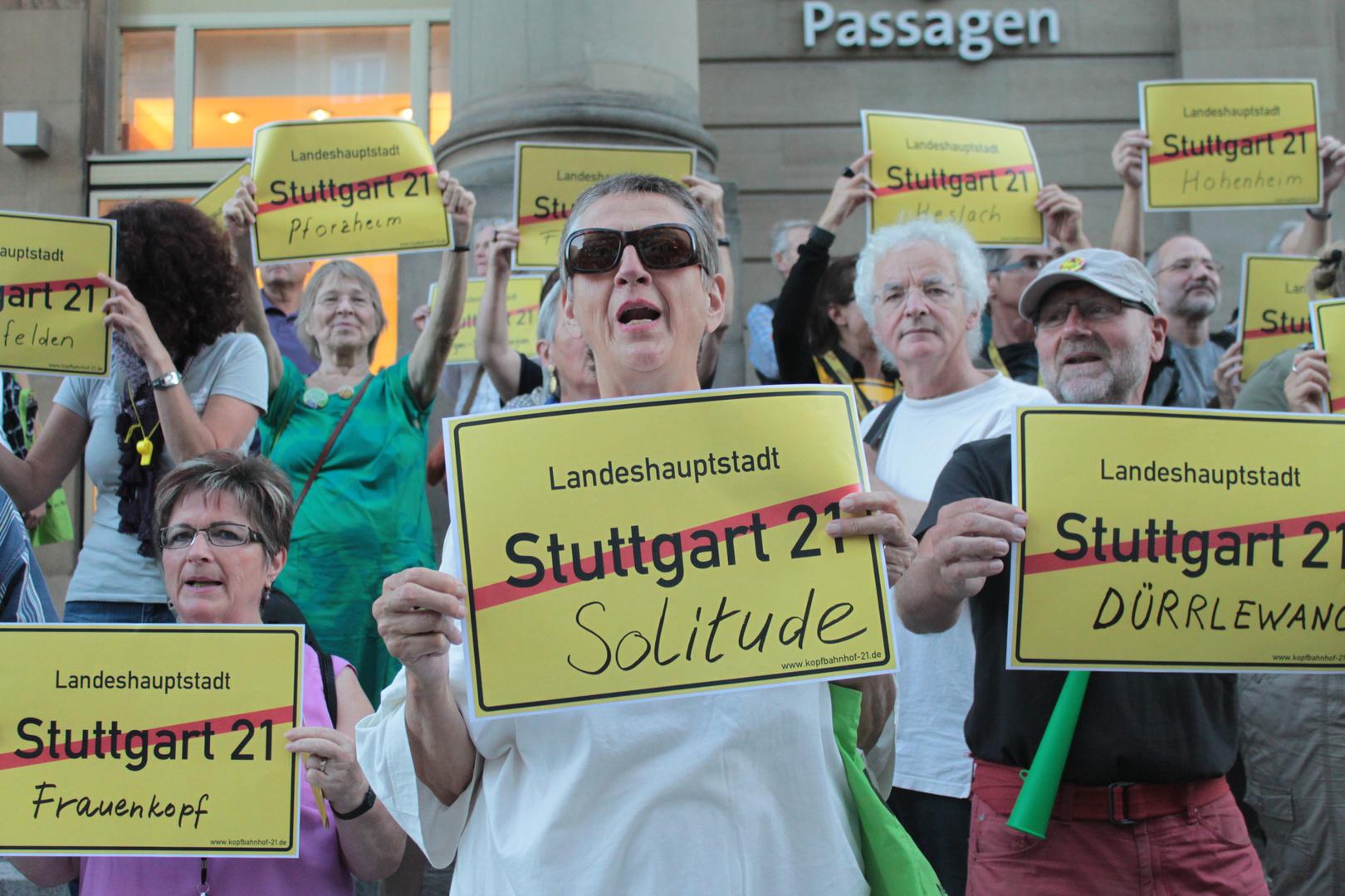 Stuttgart K21-Plakate AKTUELL