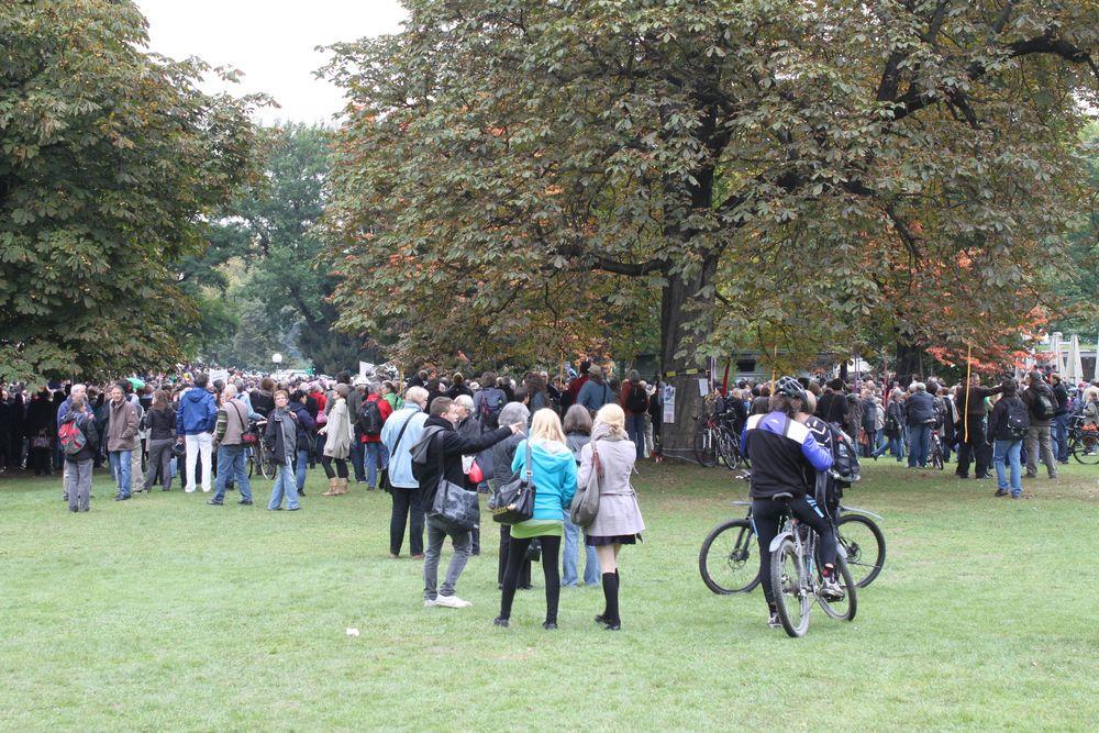 Stuttgart Park 30.9. 14:00h