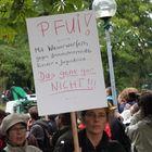 Stuttgart Park 30.9 17:40h Plakat Pfui + 2 Texte