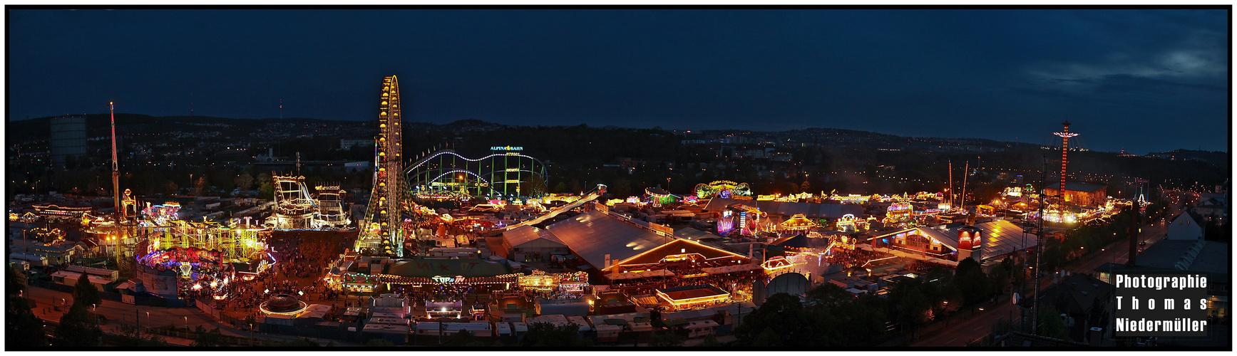 Stuttgarter Frühlingsfest Panorama