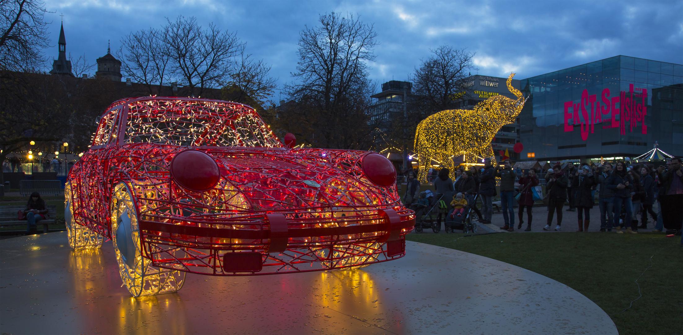 Stuttgart Weihnachtsmarkt.Stuttgarter Weihnachtsmarkt Foto Bild World Spezial