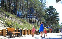 Stutthof - Sztutowo - Zugang zum Strand -