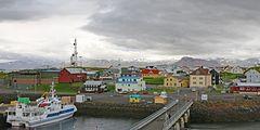 Stykkisholmur, auf der Halbinsel Snæfellsnes