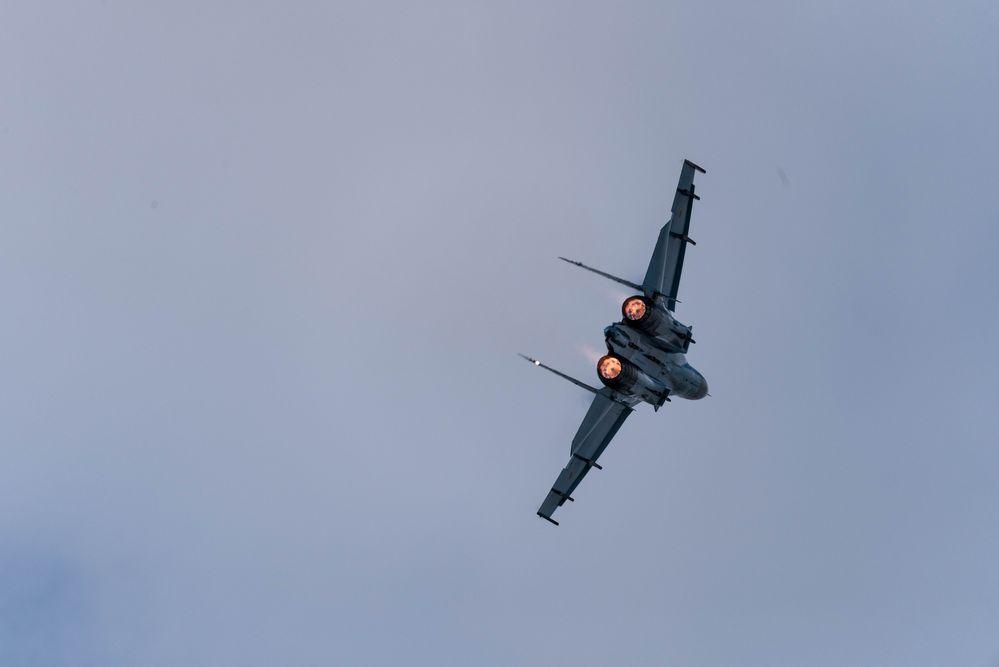 SU-27 Flanker @ RIAT 2019