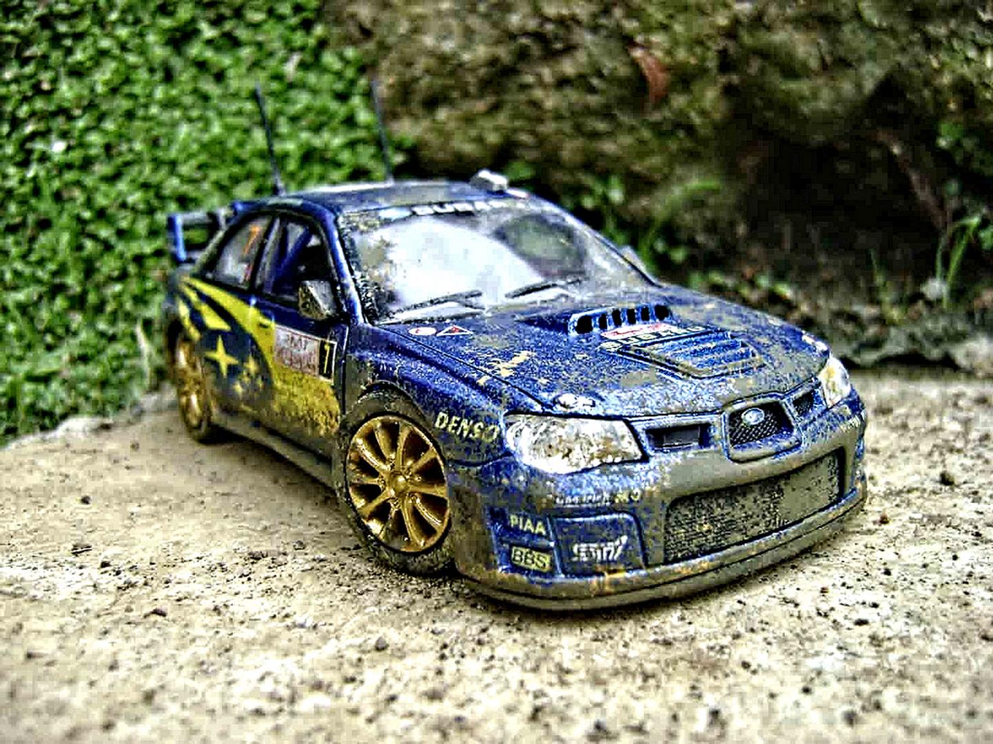 Subaru Impreza WRC 2007 diecast