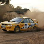Subaru mal gelb