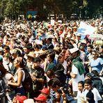 Subcomandante Marcos en Xochimilco