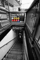 Subway from Timesquare