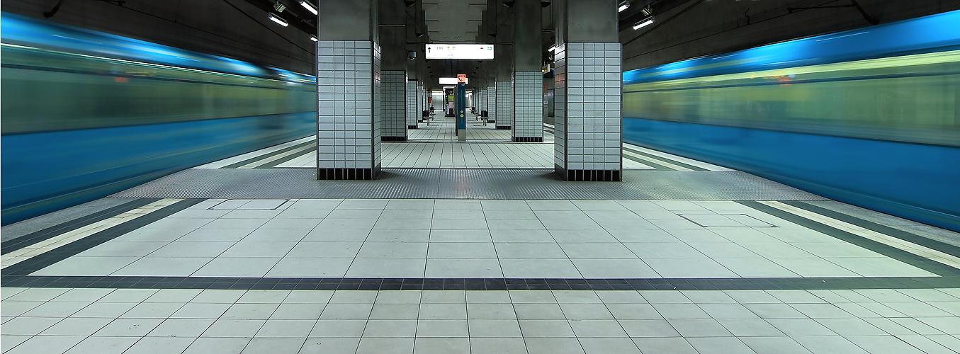 Subway Station Frankfurt/Main