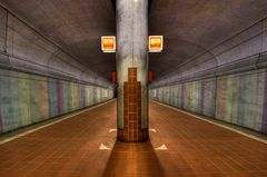 Subway Stations of Frankfurt Westend