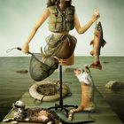 Successful fishing. From life of one dummy