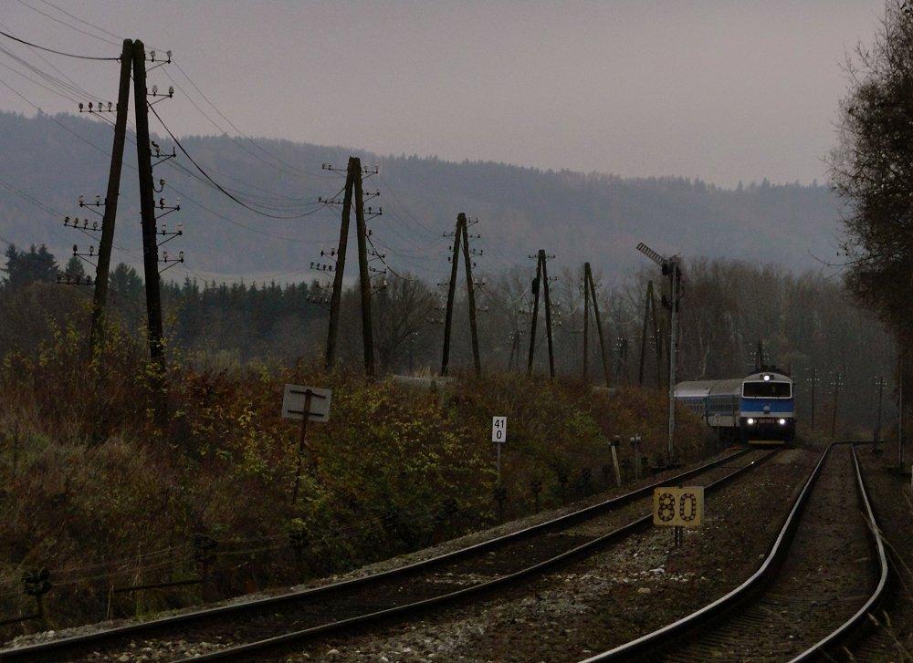Sudety November - Abzweig