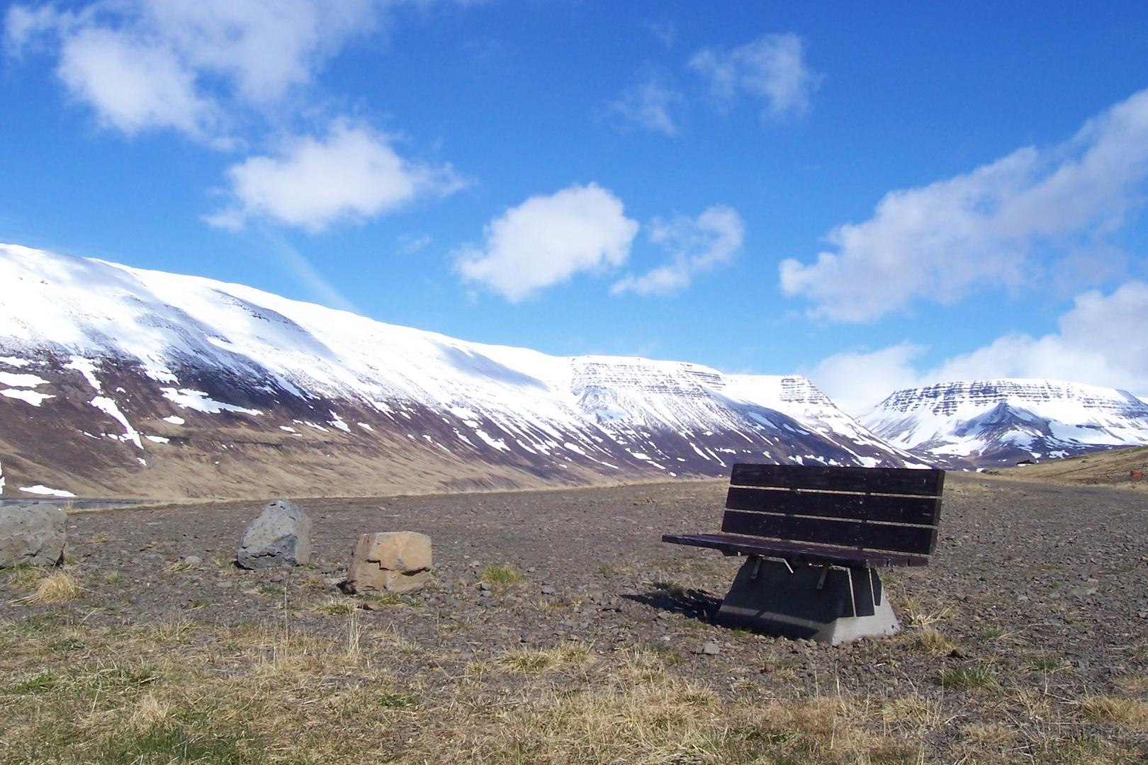Sudureyri in Island/Westfjorde