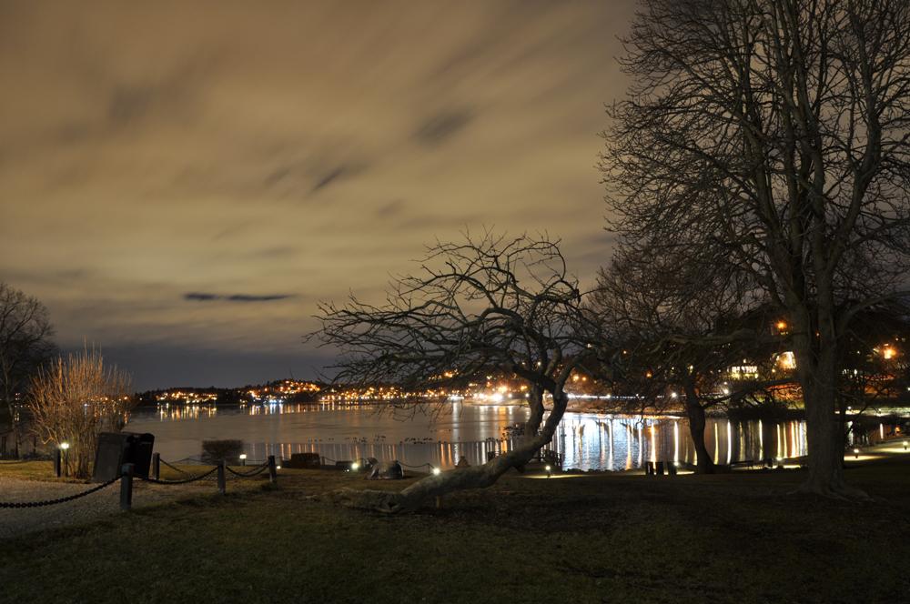 Suecia, Edsberg de noche