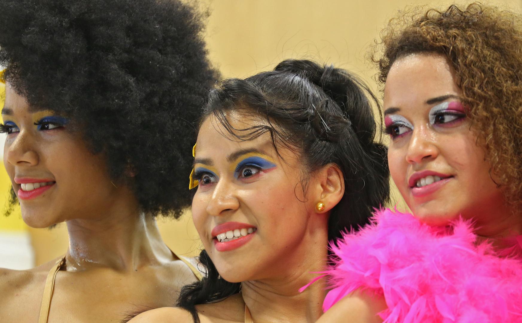 Südamerikanische Tänzerinnen ITB Berlin