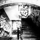 Südbrücke Köln Treppenhaus Grafitti