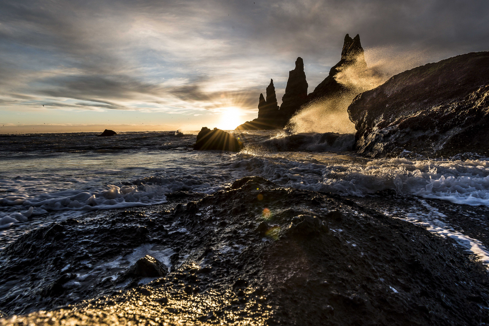 Südküste Island im November