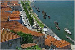 Südlicher Douroufer in Porto.